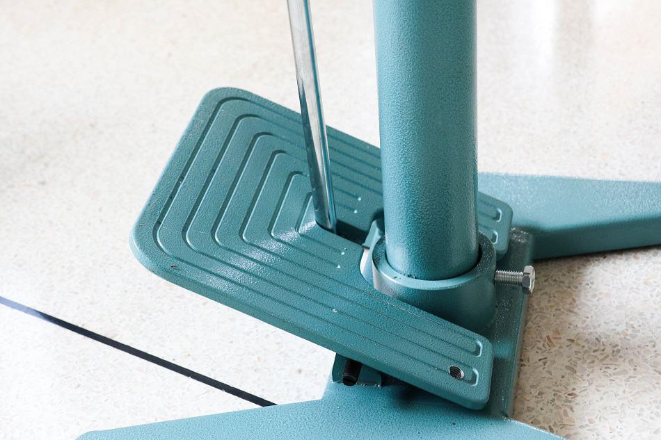 แป้นเหยียบสั่งงานจากเท้าโดยตรง ปรับระดับได้ เพื่อความเหมาะสมในการใช้งาน เครื่องซีลเท้าเหยียบ