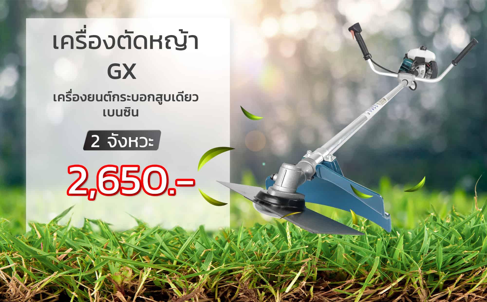 เครื่องตัดหญ้า 2 จังหวะ -ราคา