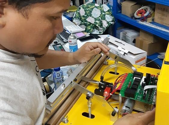 บริการซ่อม ซ่อมเครื่องซีลสูญญากาศ VC99